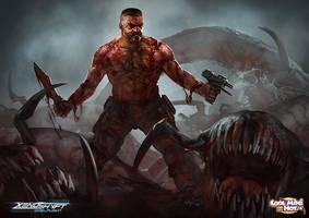 Xenoshyft Militia Hero by BrotherOstavia