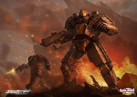 Xenoshyft Ajax by BrotherOstavia