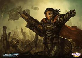 Xenoshyft Field Commander by BrotherOstavia