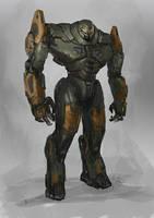 Jaeger sketch by BrotherOstavia