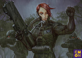 Xenoshyft Dreadmire Ranger Hero by BrotherOstavia