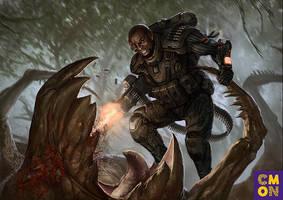 Xenoshyft Munitions Expert Hero by BrotherOstavia