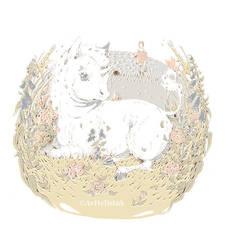 Unicorn and flowers by AnitramYnnej