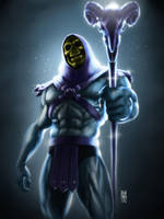 Skeletor by RaffoRamat