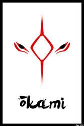 Okami - Minimalist Poster by silverspitfire