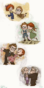 UP: Carl and Ellie by Isaia