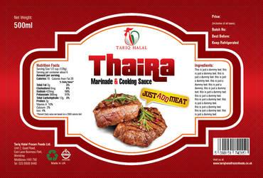 Thaira Lable by pixelstudioct