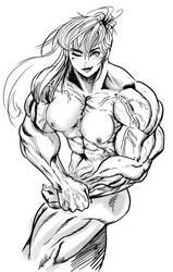 Muscle Babe by Ablox