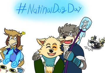 #NationalDogDay by kobaiy7598
