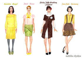 2014 Points Bomb Challenge: Business Wear by nabilaclydea