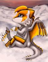 .: lil feathered Draxy:. by Kryptangel