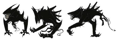 .:Lovely inky Beast:. by Kryptangel