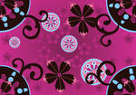 Whimsical pattern pink by madetobeunique