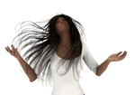 Prayer and Praise 3d Woman png by madetobeunique