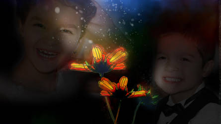 Website Stock Image Resource happy children light by madetobeunique