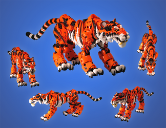 Tiger v2 by retinence