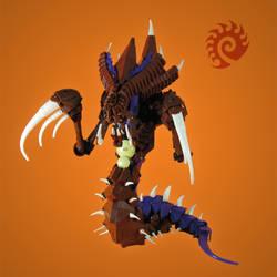 Lego: Starcraft 2 Hydralisk by retinence