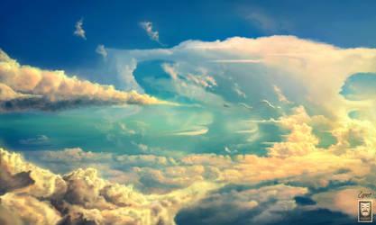 Dragon Skies by HjalmarWahlin