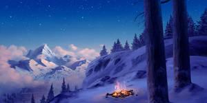 Winter adventure by HjalmarWahlin