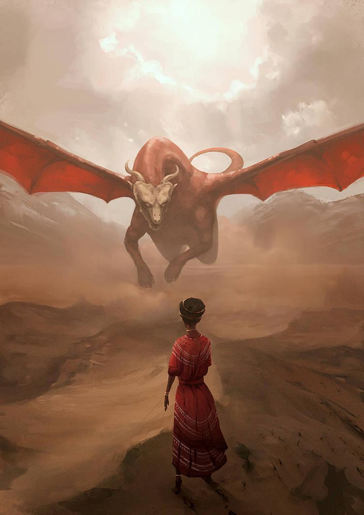 Desert Dragon by HjalmarWahlin