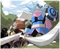 Battle bandits by GlassesGator