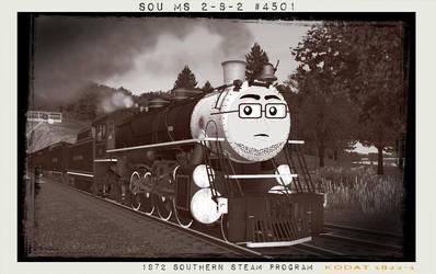 SOU #4501 1972 Southern Steam Program by GreyhoundProductions