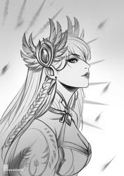 League of Legends - Divine Blade Irelia by HecatiArtz