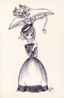 Monster In Your Parasol By Tibby Kitty On Deviantart