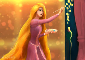 Tangled : Rapunzel by Gor-Rot