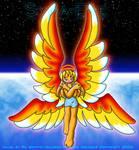 syna eve fire angel by mahjqa