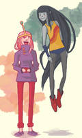 Marcy and Bubbz by PrincessWilfred