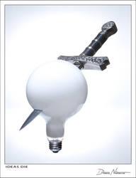 Ideas Die by Davenit
