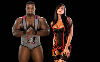 Big E Langston and Candice Michelle by VannLarson