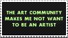 The Art Community by paramoreSUCKS