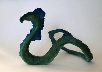 Sea serpent by Elaihr