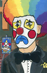 Clown At A Funeral by SuburbanFreeflow