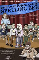 Spelling Bee Poster by SuburbanFreeflow