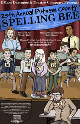 New Spelling Bee Poster by SuburbanFreeflow