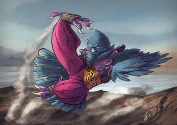 Kicky Pidge by YelZamor