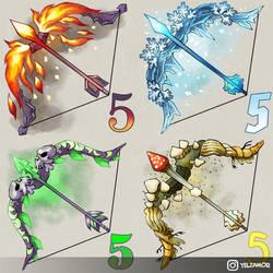 BGO - Fantasy Bows by YelZamor