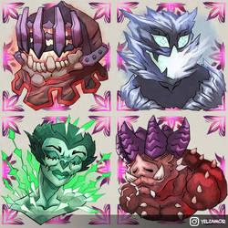 BGO - Greater Demons by YelZamor