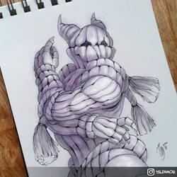 Potato Knight by YelZamor