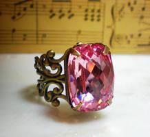 Victorian Plush Pink by ClassicKeepsakes