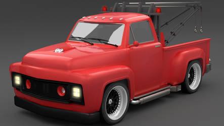 Custom Tow Truck by Dereksh97