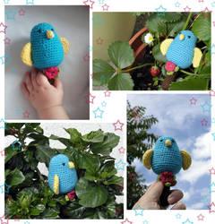 #WeekOne - Little Bird Rattle by Himbeerfalter