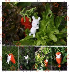 Tiny Easter Bunny by Himbeerfalter