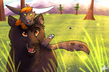 Bear Friend. by BlaideBlack