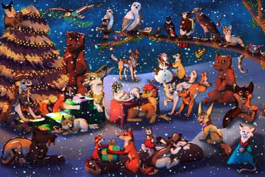 Merry Christmas 2018 by BlaideBlack
