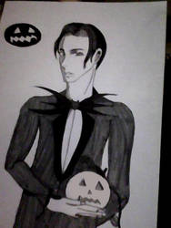The Pumpkin King by Mistress-Psyche
