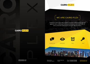 Print Design for Cairo Plex by evidentart